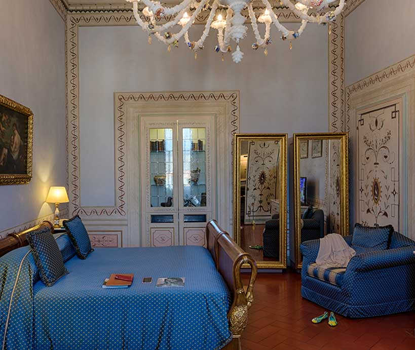 junior suite Villa hotel 4 stelle superior Firenze sud